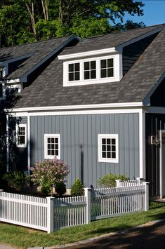 Exterior White House Vertical Siding Ideas For 2019 Café Exterior, Cottage Exterior, Exterior Design, Bungalow Exterior, Exterior Stairs, Exterior Paint Colors For House, Paint Colors For Home, Exterior Colors, Paint Colours