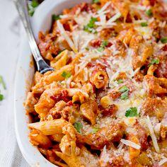 Healthy Parmesan Chicken Recipe