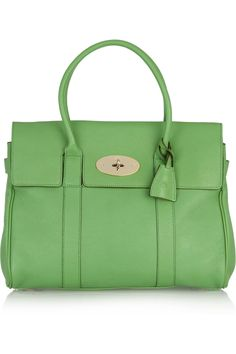 A girl can dream, can't she? Green Mulberry Bag - $1250.