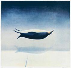 Over antarkis - Vebjørn Sand Public Art, Bird Art, Great Artists, Storytelling, Whale, Scandinavian, Art Projects, Illustration Art, Contemporary