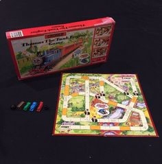 Thomas the Tank Engine Vintage 1986 Croner Board Game - Fully Complete   | eBay