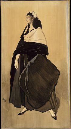 Mme Ida Rubinstein Léon Bakst (Russian, Grodno 1866–1924 Paris)  Date:     ca. 1910