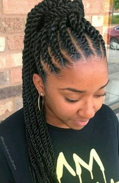 Thick Cornrows Hairstyles 25 Easy To Do Cornrow Braided Hairstyle To Try Out Correct Kid Hair Styles Cornrow Hairstyles Twist Braid Hairstyles