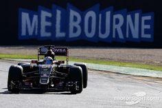 2015 Romain Grosjean, Lotus F1 Team