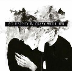 'Crazy' #atticuspoetry #atticus #poetry #poem #quote #love #happy #crazy #beautiful #artwork #paris thx @thequotethief