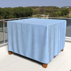 Budge Industries All-Seasons Polypropylene Outdoor Patio Table Cover - P5A24BG1