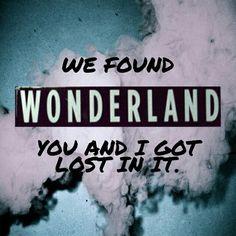 Wonderland - Taylor Swift