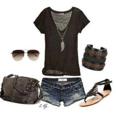 cute summer lounge outfit