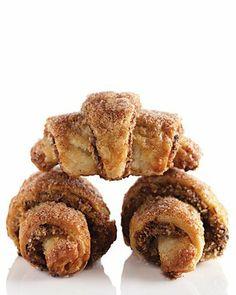 Prune Rugelach Recipe | Martha Stewart #rugelach #cookies #Jewish_recipes #Hanukkah #prune