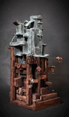 Tecla mixed media Invisible Cities, Clay, Inspiration, Ideas, Art, Keyboard, Clays, Biblical Inspiration, Art Background
