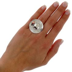 Hat ring handmade sterling silver hat ring with by emmanuelaGR