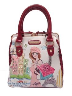 d35917c90e Cartera tipo bolso Nicole Lee. Nicole Lee HandbagsPrinted Tote BagsBoho BagsPurse  StylesCute BagsFashion ...