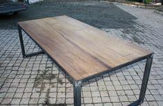 création table style industrielle sur mesure