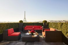 "Penthouse Petit DeJ "" Breakfast above Paris is the best start to any day!!"""