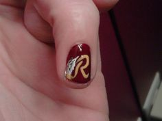 going to have to figure this one out before football season gets here! Football Nail Designs, Football Nails, Football Team, Gel Nail Art, Nail Polish, Lee Nails, Gel Nail Designs, Mani Pedi, Beauty Make Up