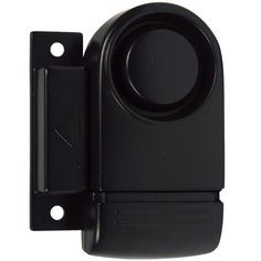 Magnetic Door Alarm     This compact, attractive magnetic door alarm uses magnetic affinity to initiate its 110 dB siren. The base of the alarm is attached to a door or window frame. The actuator is attached to the window or door. The alarm is activated by opening the door or window. On Guard for you - Day and Night!