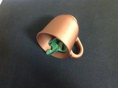 Impreso con copper PLA 3DCPI