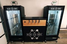 Double fermentation chamber and 4 taps