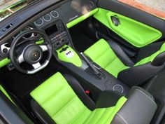 Hamann Aventador lamborghini lime green and black interior Lamborghini Aventador Interior, Green Lamborghini, Lamborghini Gallardo, My Dream Car, Dream Cars, Green Queen, Before Us, My Ride, Custom Cars