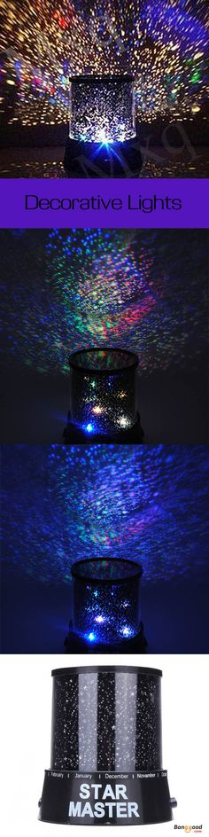 US$6.99 + Free shipping. Amazing Sky Star Cosmos Laser Projector Lamp Night Light. Decorative Lights, Smart Creative Lights, home decor, DIY lights. Find more!