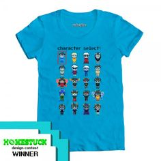 Character Select basic women's fitted tee