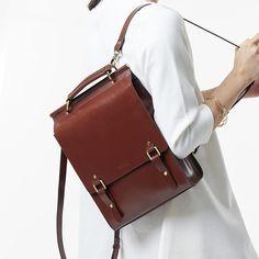 Julia Kays™ VIEW Vintage Backpack- Want in Brown