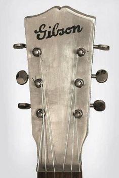 Vintage Gibson Guitar headstock
