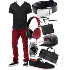 """""""Alloy Classic Belt - REDilicious!"""" by kristinmadsen on Polyvore"""