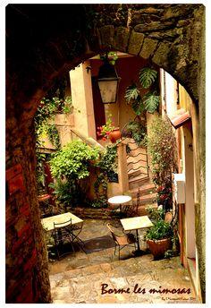 Go to Bormes terrace - Borme les Mimosas - France
