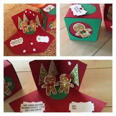 Explosionsbox Weihnachten