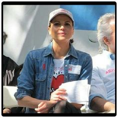Lana attending the aids walk in NYC May 18th 2014.