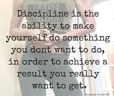 Discipline lasts longer than motivation. Great Quotes, Quotes To Live By, Me Quotes, Motivational Quotes, Inspirational Quotes, Positive Affirmations, Positive Quotes, Body Positive, Fitness Quotes