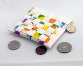 Duct tape coin purse