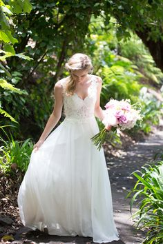 Snow Lotus by Daisy Brides at Paperswan Bride