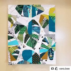 Sarah is currently making my dreams come true with this bright scrappy beginning to her 🌱🌿🌴😍 Free Paper Piecing Patterns, Quilt Block Patterns, Modern Quilt Blocks, Strip Quilts, Easy Quilts, Scrappy Quilts, Tropical Quilts, Hawaiian Quilts, Tree Quilt