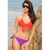 Bikini bicolor hermosooo! Tallas CH, M y G $500 MXN  #mabelletrendy #summer #bikini #fun