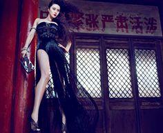 Fan Bingbing #fanbingbing #allblackeverything #blackdress
