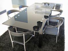 Jídelní stůl skleněný rozkládací Gourmet_1