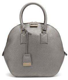 Burberry Shoes and Accessories Silver Leather Medium Orchard Bowling Bag Burberry Shoes, Burberry Handbags, Fashion Handbags, Fashion Bags, Luxury Handbags, Danse Lente, Athleisure Fashion, Bowling Bags, Silver Accessories