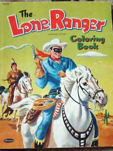 1956 Famous Cowboys Coloring Book Unused, Merrill, #2528 | Coloring ...