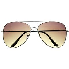 Womens Mens Fashion Large Silver Metal Aviator Sunglasses A1900 ($5) ❤ liked on Polyvore featuring mens, men's accessories, men's eyewear, men's sunglasses, accessories and sunglasses