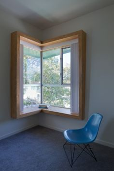 Gallery of Broadway Housing / Kevin Daly Architects - 4 Contemporary Windows, Modern Windows, Wood Windows, Windows And Doors, Built In Furniture, Furniture Design, Corner Window Seats, Corner Windows, Window Frames