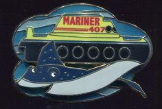 Finding Nemo Submarine Voyage Mr. Ray Mariner LE Disney Pin 61280 picclick.com