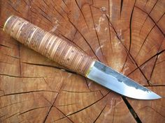 birch bark knife handle - Google Search