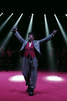 The end of the show at Circo Nazionale d'Italia in Ciudad del Mexico. July 2013