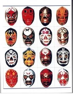 Explore Gareth Wright's photos on Photobucket. Best Cartoons Ever, Cool Cartoons, Collages, Aztec Tattoo Designs, Mexican Wrestler, Mexican Mask, Aztec Warrior, Goalie Mask, Mexico Art