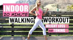 WALK AT HOME WORKOUT minute fun routine to help you lose weight and tone up-low impact exercises - Palm Tree Fitness Easy Workouts, At Home Workouts, Elliptical Workouts, Cardio, Weight Loss Motivation, Fitness Motivation, Walking Exercise, Walking Workouts, Low Impact Workout