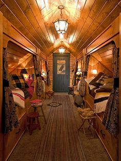 Love this bunk room