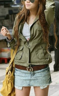 Military Style Outfit