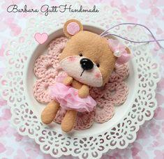 Barbara Handmade...: Światowy Dzień Pluszowego Misia/ National Teddy Bear Day
